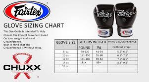 Fairtex Bgv1 Boxing Gloves Size Guide Chuxx Martial Arts