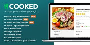 Cooked Classic v2.4.3 - A Powerful Recipe Plugin for WordPress