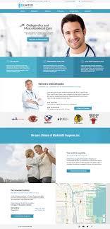 Top Medical Website Designs Medical Orthopedic Website Design Theme Medical Websites