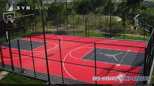 home basketball court design. Professional Basketball Court In Backyard 6 Reasons To Install A SYNLawn Home Design: Design