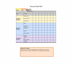 Work Plan Formats Work Plan 40 Great Templates Samples Excel Word Template Lab