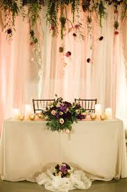 Bride Groom Table Decoration 17 Best Ideas About Sweetheart Table Backdrop 2017 On Pinterest