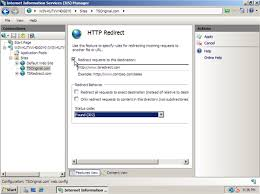HTTP Redirection in IIS 7 on Windows Server 2008 | Pluralsight