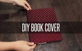 diy slip on book cover
