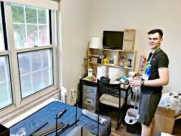 boys dorm room decor and organizing