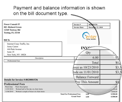 Invoice Type Invoice Document Types