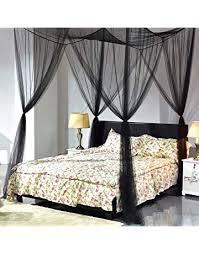 Unique canopy bed Unusual Goplus Corner Post Bed Canopy Mosquito Net Full Queen King Size Netting Bedding Amazoncom Shop Amazoncom Bed Canopies Drapes