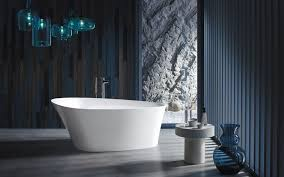 kohler presents ceric and veil a new age in freestanding baths