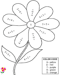 Coloring Pages For First Grade Printable Math Coloring Pages First