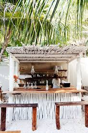 8 Design Lessons to Steal From Tulum, Mexico. Driftwood BarBranding  DesignInterior ...