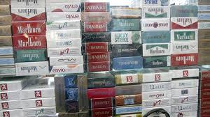 Resultado de imagem para cigarros contrabandeados.