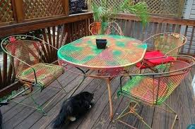 colored wood patio furniture. Perfect Wood Patio Furniture Paint Colors Painted For Metal  Landscaping Gardening Ideas In Colored Wood Patio Furniture O