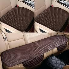 leather car seat care products diamond stitch leather car seat cushion pads set hover to zoom