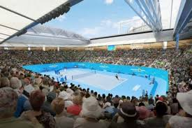 australian open roof new roof on margaret court arena will weatherproof the
