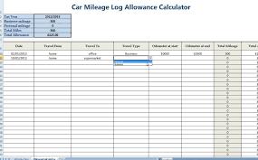 Excel Mileage Calculator