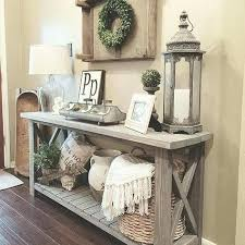 decor entry table decorating