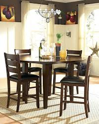36 inch round dining table stylish counter height round dining collection inch high dining table designs