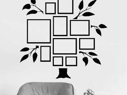 frame stickers for walls in living room