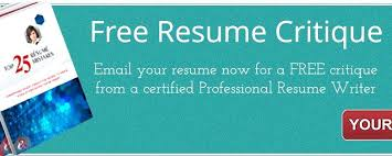Resume Critique Awesome Professional Resume Critique Download Free Resume Critique Free