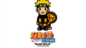 BAPE Shares Collaboration with Naruto ...