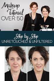 over 50 makeup tutorial for women using