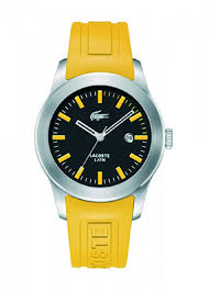 lacoste men s and women s watches 109 99 for lacoste advantage men s watch yellow band black and yellow face 2010398 175 list price