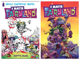 from new york times bestseller and all around all star skottie young es the i fairyland coloring book as well as the first issue in a new