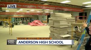 high school cafeteria. Checking Out The New Anderson High School Cafeteria
