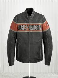 mens victory harley davidson lane leather jacket