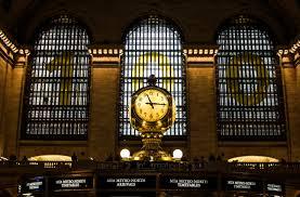 Kostenlose Foto Fenster Glas Uhr Gebäude New York Transport