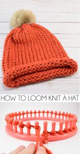 Loom Knitting Hat Patterns Classy How To Loom Knit A Cap EWrap Method Dream A Little Bigger