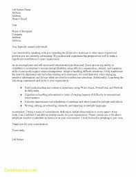 Best Of Email Cover Letter Template Best Templates