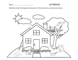 Word Family Coloring Pages Word Family Coloring Pages At Ar An Words