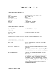 Fantastic Modelo De Curriculum Vitae Filetype Doc Gallery Entry