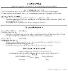 Nurses Resume Templates Resume Template Resume Template Student
