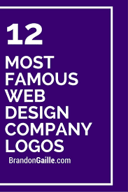 Cool Web Design Company Names 12 Most Famous Web Design Company Logos Web Design Company