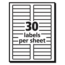 Avery Templates 5066 Avery 5066 Permanent File Folder Labels Trueblock Inkjet Laser