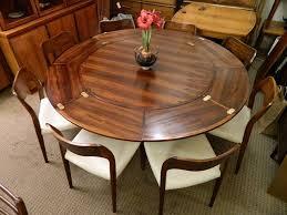 expanding dining table cabinet. the \u0027lotus\u0027 table - rare dyrlund \u0027flip-flap\u0027 danish modern expanding dining cabinet