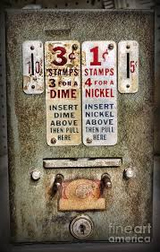 Old Stamp Vending Machine Inspiration Vintage Stamp Vending Machine Photograph By Paul Ward