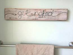bathroom wall art ideas decor elegant word plaques signs words large new for f wall plaques decor