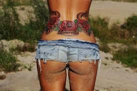 женские татуировки на пояснице стр 1 женские татуировки фото
