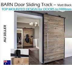 image is loading black sliding barn door hardware with top mounted