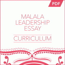 malala leadership essay  the malala curriculum  the george  malala leadership essay curriculum