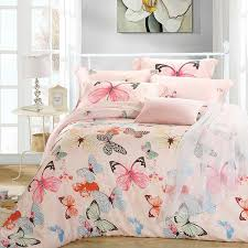 luxury erfly queen king size bedding sets pink quilt duvet cover simple bed everrouge aqua gramercy