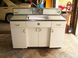 retro metal cabinets home city with sarah steel kitchen cabinet sink refinishing vintage pantry second hand