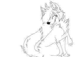 Cute Anime Wolf Girl Drawing Easy