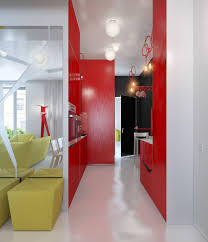 Red And Yellow Kitchen Red Black Kitchen White Yellow Lounge Interior Design Ideas Miserv
