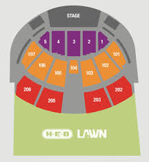 Austin360 Amphitheater Seating Chart Seating Charts Buy