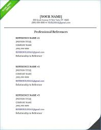 Resume References Template Word Best of Resume Include References How Do You Write References On A Resumes