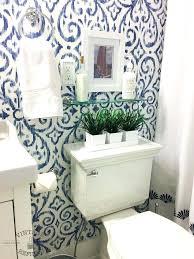 blue and white bathrooms blue and white bathroom wallpaper blue white bathroom makeover bathroom ideas home decor home improvement blue and white victorian